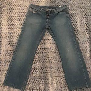 Men's Diesel Viker button-fly jeans